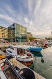 Arquitetura moderna em Savona imagem de stock royalty free