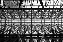 Arquitetura moderna em Toronto Foto de Stock Royalty Free