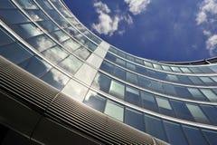 Arquitetura moderna em Varsóvia Imagens de Stock