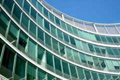 Arquitetura moderna, Europa. imagens de stock royalty free