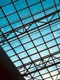 Arquitetura moderna metal do projeto imagem de stock royalty free