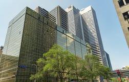 Arquitetura moderna (Montreal) foto de stock