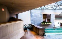 Arquitetura moderna na construção do leste do National Gallery Foto de Stock Royalty Free
