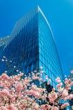 Arquitetura moderna no distrito financeiro da defesa do La, Pari Fotos de Stock Royalty Free