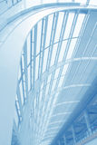 Arquitetura moderna no edifício do aeroporto Imagens de Stock Royalty Free