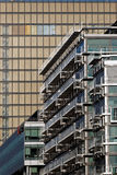 Arquitetura moderna no 13o arrondissement de Paris Fotografia de Stock