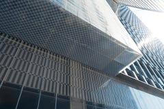 Arquitetura moderna nova da cidade imagens de stock royalty free