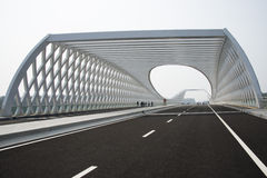 Arquitetura moderna, ponte Imagem de Stock