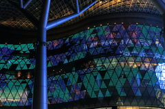 Arquitetura moderna Singapura Foto de Stock Royalty Free
