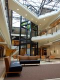 Arquitetura moderna - vestíbulo Fotografia de Stock Royalty Free