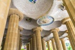 Arquitetura Modernistic em Barcelona Imagem de Stock
