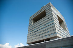 Arquitetura na universidade de Shenzhen, China Imagens de Stock Royalty Free