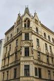 Arquitetura nas ruas de Praga Imagens de Stock Royalty Free