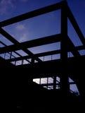 Arquitetura no céu azul foto de stock royalty free