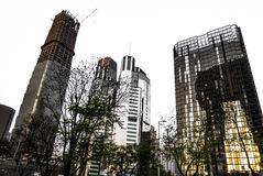 Arquitetura no Pequim Imagens de Stock Royalty Free
