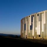 Arquitetura no por do sol Imagem de Stock Royalty Free