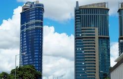 Arquitetura nova em Dar es Salaam imagens de stock