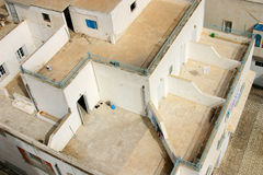 Arquitetura oriental da parte superior do telhado - Tunísia Foto de Stock Royalty Free