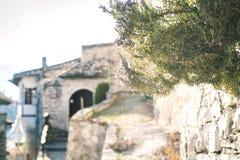 Arquitetura original de Berat Foto de Stock