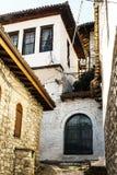 Arquitetura original de Berat Imagem de Stock Royalty Free