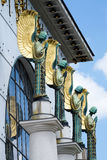 Arquitetura Otto Wagner Vienna Fotos de Stock