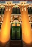 Arquitetura paisagística exterior Imagens de Stock