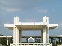 Arquitetura paquistanesa da mesquita Fotografia de Stock