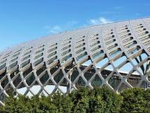 Arquitetura paramétrica da abóbada Arquitetura moderna fotos de stock