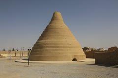 Arquitetura persa velha tradicional - armazenamento de gelo, feito da argila imagem de stock royalty free