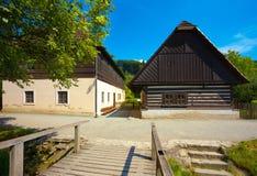 Arquitetura popular checa Foto de Stock Royalty Free