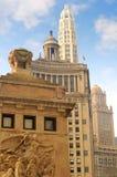 arquitetura Quatro-mergulhada Fotografia de Stock Royalty Free