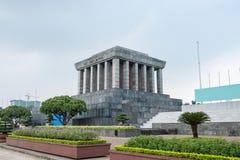 Arquitetura que constrói o lugar de Ho Chi Minh Mausoleum do revolutiona fotografia de stock