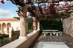 Arquitetura residencial italiana. Fotografia de Stock Royalty Free