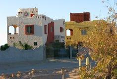 Arquitetura residencial mexicana Imagem de Stock Royalty Free