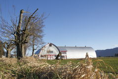 Arquitetura rural moderna Imagem de Stock Royalty Free
