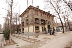 A arquitetura soviética do estilo na cidade de Zhengzhou Fotografia de Stock