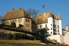 Arquitetura suíça Fotos de Stock Royalty Free