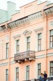 Arquitetura típica da cidade de St Petersburg fotografia de stock royalty free