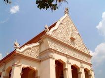 Arquitetura tailandesa 01 fotografia de stock royalty free