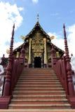 Arquitetura tailandesa foto de stock