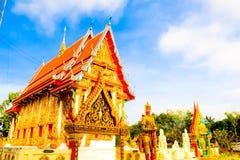Arquitetura tailandesa do templo fotos de stock