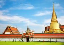 Arquitetura tailandesa tradicional imagens de stock royalty free