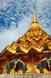 Arquitetura tailandesa tradicional imagens de stock