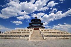 Arquitetura-Templo de Beijing do céu imagens de stock