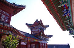 Arquitetura tradicional chinesa Fotos de Stock Royalty Free