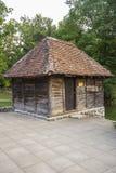 Arquitetura tradicional da Sérvia ocidental foto de stock