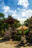 Arquitetura tradicional do balinese. O Gunung Kawi Imagens de Stock Royalty Free
