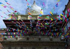 Arquitetura tradicional do templo Fotografia de Stock Royalty Free