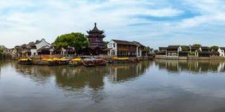 Arquitetura tradicional e cenário bonito em Shan Tang Jie Imagem de Stock