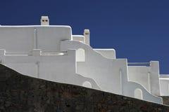 Arquitetura tradicional em Grécia Imagem de Stock Royalty Free